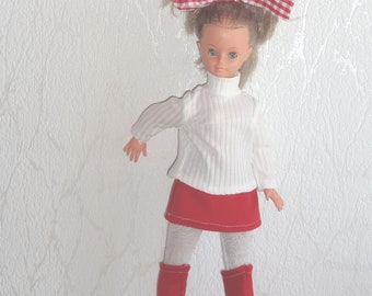 Dress clothes and shoes for doll Cathie cathy Bella, gege Dolly.