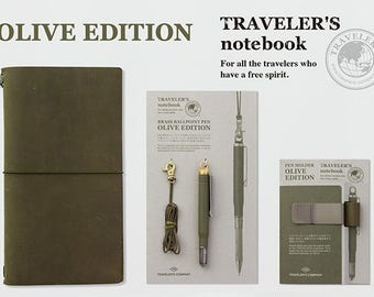 Limited Edition 2017 TRAVELER'S notebook OLIVE EDITION