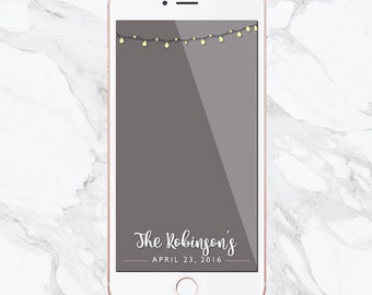 Wedding Snapchat Filter, Snapchat Geofilter, Wedding Geofilter, Snapchat Filters, Custom Wedding Filter, Custom Filters, Mr and Mrs, Geo