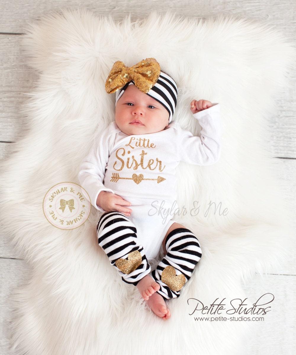 Zebra knot headband and leggings baby leggings newborn RTS 03 mo baby leggings set newborn take home set baby leggings and headband set