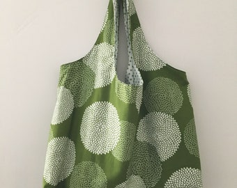 Tote Bag Large Moss Green