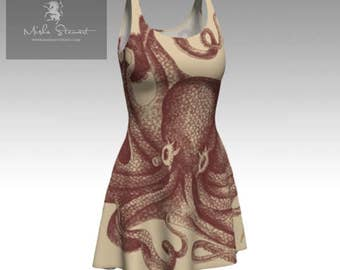 Nautical Octopus Dress