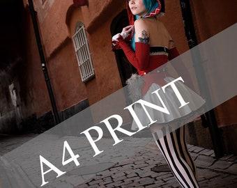 A4 Print || Hatsune Miku Catfood