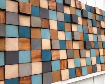 Wood Wall Art - Wood Art - Reclaimed Wood Art