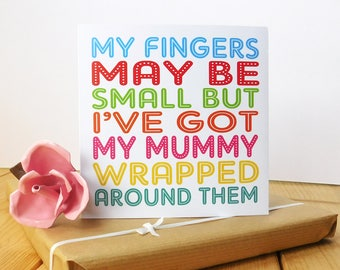 Cute Mummy birthday card mother mothers day card for mum greeting card mother birthday cards card for mummy mum mother mom (MD2)