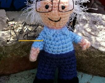 Bernie Buddy - Bernie Sanders doll *crochet pattern*