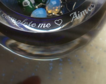 Personalised Small Treasures Bowl (free engraving of your wording)