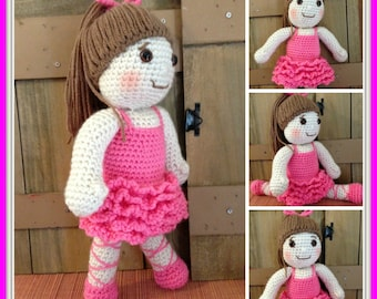 Adorable Bella Ballerina Crochet Doll Pattern