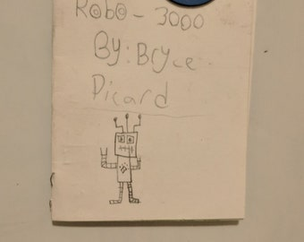 Robo-3000 mini comic book