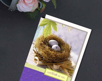 Cards for Easter, Easter Cards, Digital Easter Card, Digital Cards, Printable Cards, Happy Easter, Beautiful Greeting Cards, For Both of you