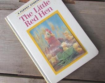 The Little Red Hen A Puppet Storybook by Tadasu Izawa 1968