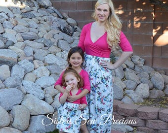 Mommy and Me Dresses | Mother Daughter Matching Dress | Matching Dresses | Mom and Baby Outfits | Matching Family Outfits