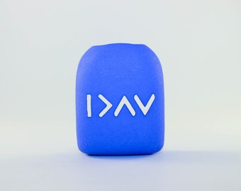 I Am Greater Than My Highs and Lows - Clip-On Omnipod Pod Cover