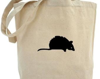 Mouse Tote - Cotton Canvas Tote Bag