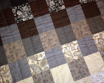 Perfect Little Man Quilt - Handmade