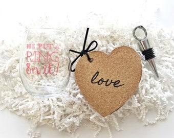 Engagement Gift Box. Bride to Be. Wedding Planning Box. Bridal Gift Box.