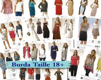 16 models, Burda, Women, 16-34, new, uncut.