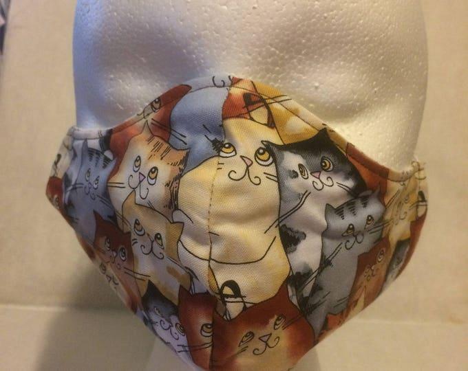 Fabric Grooming Mask