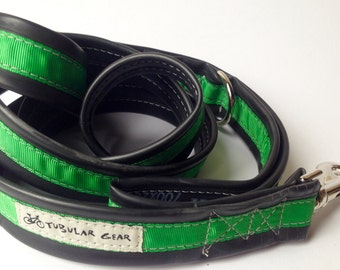 Leash- Emerald Green