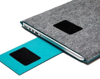 "15"" MacBook Pro fait main manche. Cas de MacBook Touch Bar. Retina Display manche."