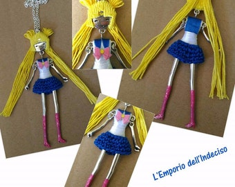 Necklaces inspired by the Sailor Warriors