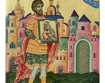 Virgin Mary Feodorovskaya | Byzantine Christian Orthodox Icon on Wood