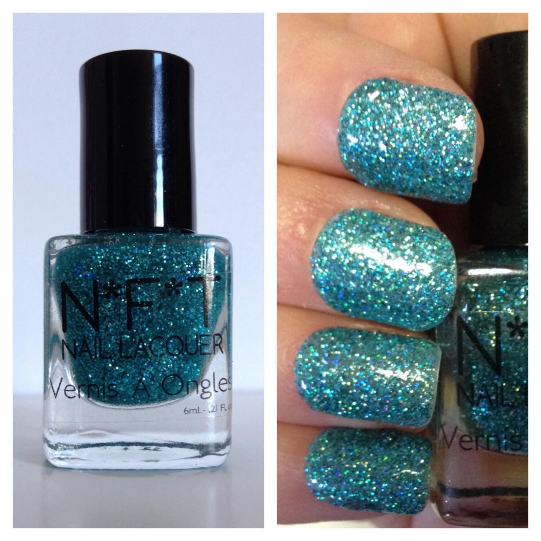 N11 Glitter ME blau und grün Glitzer Nagellack / Indie Lack
