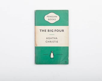 The Big Four by Agatha Christie - Vintage Penguin Book Number 1196, Published 1956