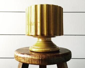 Vintage mustard vase