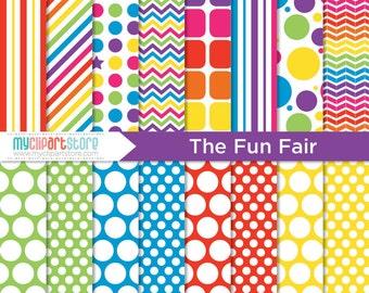 Digital Paper - The Fun Fair (Circus)