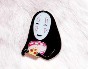 hungry no face - pin