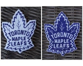Toronto Maple Leafs Embroidered Iron On Patch NHL For Hockey Fans