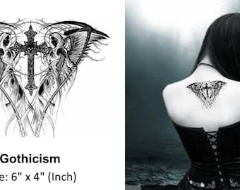 Gothicism - Temporary Tattoo