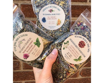 U Pick Healing Herbal Blend; Ritual Herbal, Wildflower Botanical OR Grounding & Focus Blends READ DETAILS pick 1 or 3