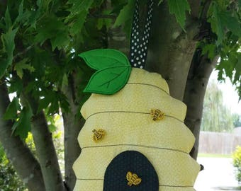 Tooth Fairy Pillow, Tooth Fairy House, Beehive