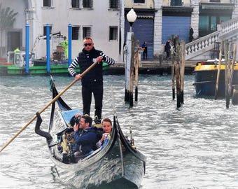 Gondola ride in Venice 2