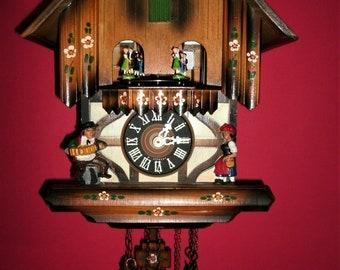 Vintage Classic SCHMECKENBECHER Musical Cuckoo clock #62