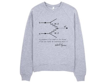 QED Feynman Diagram Sweatshirt