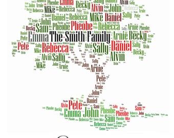 family tree on word