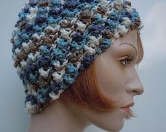 Women's Skull Cap - Flapper Hat - Women's Cloche Hat - Crochets Beanie - SHOW