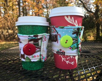 Gingerbread cookies holiday Coffee Wrap!