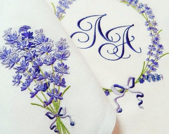 Machine Embroidery Design - Fragrant lavender #2