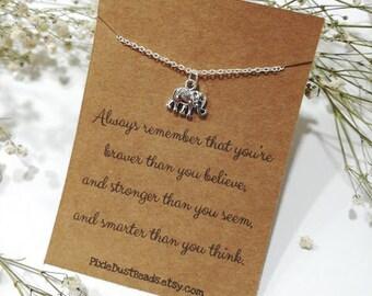 Elephant Necklace, Elephant Jewellery, Elephant Charm, Silver Elephant, Elephant Pendant, Elephant Bracelet, Elephant Gift, Elephant Jewelry