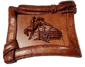Horse Wood Carving, Weste...