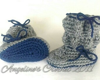 Newborn bubble booties, baby gift, baby boots, crib shoes, newborn boots, baby shoes, baby shower gift, photo prop, crocheted baby item