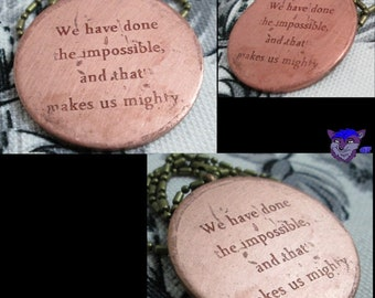 Firefly Inspired: We have done... (Copper)