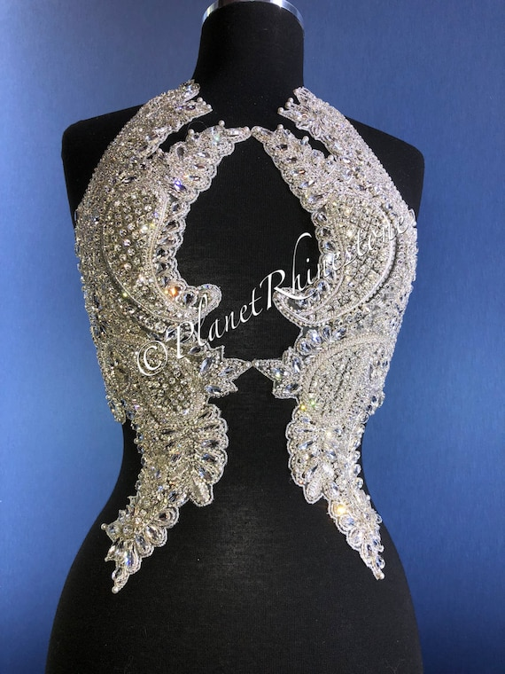 Wendy Crystal Beaded Bodice