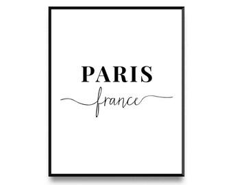 Paris Print, Paris Wall Art, Paris Print, Paris Decor, Paris Print, Paris Art, Paris Poster, French Print, Printable Art, Art Print