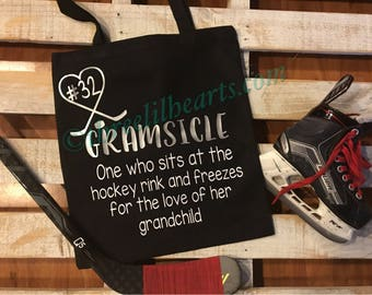 Gramsicle or momsicle tote bag