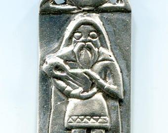 Braggi - Norse God of Bards - Sterling Silver - 5151S